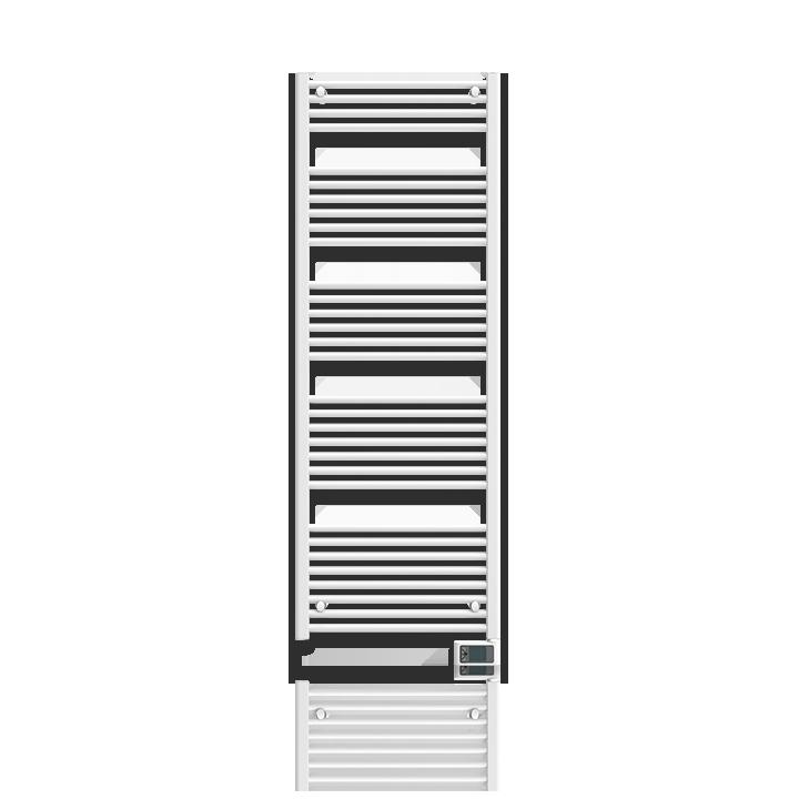 Badkamer radiator Oléron 2
